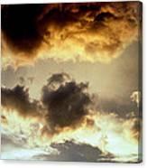 Golden Cloud Canvas Print