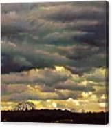 Cloud Burst Canvas Print