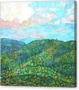 Cloud Dance On The Blue Ridge Canvas Print