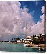 Cloud Faces Over St. George's, Bermuda Canvas Print
