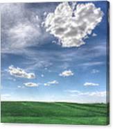 Cloud Heart Canvas Print