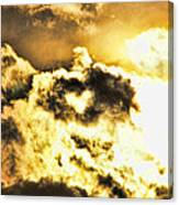 Cloud Of Love Canvas Print