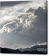 Cloud Over Goat Mountain Canvas Print