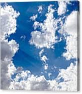 Cloud Study 3852 Canvas Print