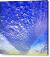 Cloud Tails At Sunrise Canvas Print
