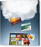 Cloud Technology Canvas Print