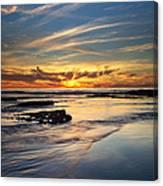 Cloud Trails Canvas Print