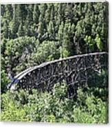 Cloudcroft Railroad Trestle Canvas Print