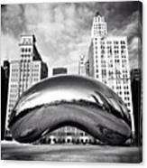 Chicago Bean Cloud Gate Photo Canvas Print