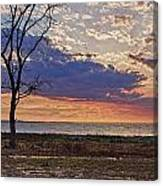 Clouding Up On Oyster Bay Canvas Print