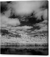 Clouds Above Klamath Canvas Print
