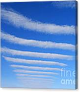 Clouds. Canvas Print