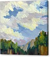 Clouds At Thousand Palms Canvas Print