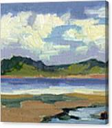 Clouds At Vashon Island Canvas Print