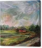 Clouds Dancing  Canvas Print