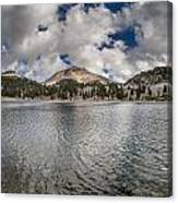 Clouds Form Over Lake Helen Canvas Print