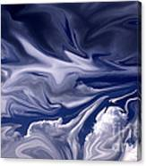 Clouds In Chaos Canvas Print