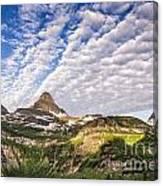 Clouds In Glacier Canvas Print