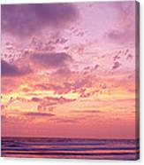 Clouds In The Sky At Sunset, Pacific Canvas Print