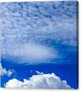 Layers Of Clouds Canvas Print