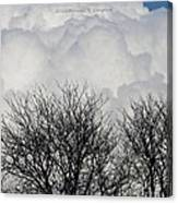 Clouds Named Cotton Canvas Print