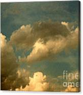 Clouds Of Yesterday Canvas Print