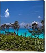 Clouds On The Horizon Canvas Print