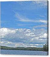 Clouds Over Algoma Canvas Print