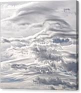 Clouds Over Caughlin Ranch Canvas Print