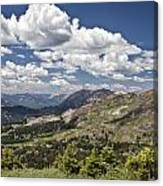 Clouds Over Crested Butte Canvas Print