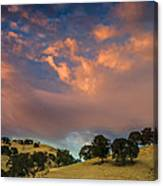 Clouds Over East Bay Hills Canvas Print