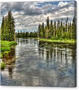 Clouds Over Henry's Fork Canvas Print