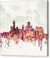 Clouds Over Houston Texas Usa Canvas Print