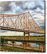 Clouds Over King Bridge Canvas Print