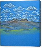 Clouds Over Lassen Canvas Print