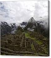 Clouds Over Machu Picchu Canvas Print
