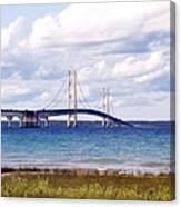 Clouds Over Mackinaw Canvas Print