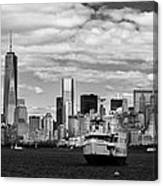 Clouds Over New York Canvas Print