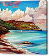 Clouds Over Paradise Canvas Print