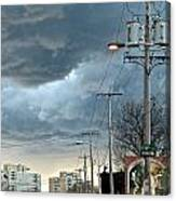 Clouds Over Philadelphia Canvas Print