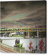 Clouds Over Pittsburgh Canvas Print