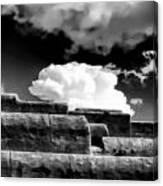 Clouds Over Santa Fe Canvas Print
