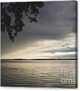 Clouds Over Seneca Lake Canvas Print