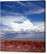 Clouds Over The Badlands Canvas Print