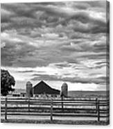 Clouds Over The Upper Midwest Canvas Print