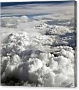 Clouds Over Wyoming Canvas Print