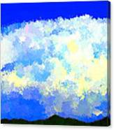 Clouds Overhead Canvas Print