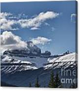 Clouds Sky Mountains Canvas Print