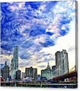 Clouds Van Gogh Canvas Print