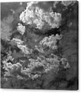 Angry Clouds Canvas Print